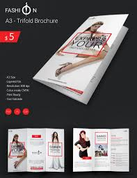 Flyer Template Free For Word Elegant Fashion A24 Tri Fold Brochure Template Free Premium Templates 11