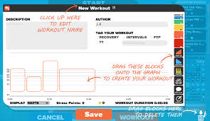 you can make any workout you can dream up or remix an existing favorite workout