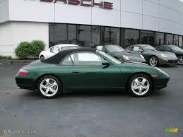 2001 Rain Forest Green Metallic Porsche 911 Carrera 4 Cabriolet ...