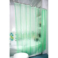 shower curtain with green thickening silk transpa water cube shower curtain environmental waterproof and mildew blue