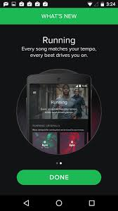 what s new screen spotify ui inspiration interface materialdesign design