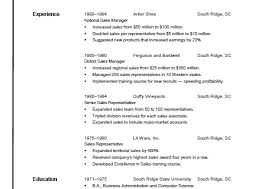 Resume Format Open Office Resume Templates For Openoffice Resume