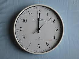 london clock company 36032 modern radio