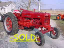 restored farmall 100 200 230 300 farmall 350 400 farmall 450 560 1956 farmall 300 29238 factory ps fast hitch wide front fenders new paint new tires overall condition excellent
