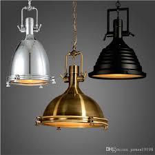 retrovintage pendant lamps ac90 260v e27 loft pendant light creative personality industrial kitchen bar industrial black e056 metal pendant light pendant