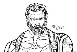 20 Infity War Thor Coloring Pages Ideas And Designs