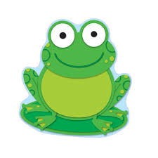 Frog Themed Behavior Chart Frog Colorful Cut Outs Beckers School Supplies