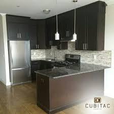 cubitac dover espresso kitchen done by newark cabinets