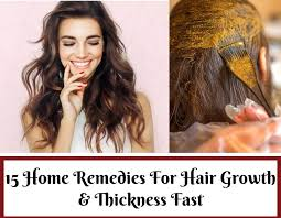 15 home remes for hair growth and