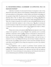 Sample Essays On Leadership Rome Fontanacountryinn Com