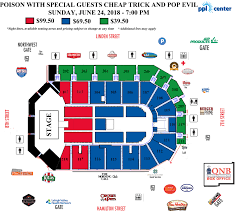 Ppl Center Allentown Pa Seating Chart Poison Nothin But A Good Time Tour 2018 With Cheap Trick On June 24 At 7 P M