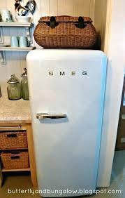 retro style refrigerator smeg appliances for home
