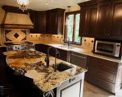 exotic granite countertraditional kitchen cleveland