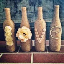 wine bottle diy crafts twine wrapped wine bottles projects for lights decoration