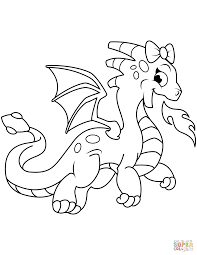 Fire Coloring Page Rainwing Dragon From Wings Of Free Printable