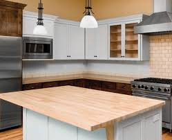 butcher block top 36 wide x 72 long x