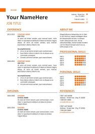 Free Modern Resume Templates For Word New Resume Templates Free Word