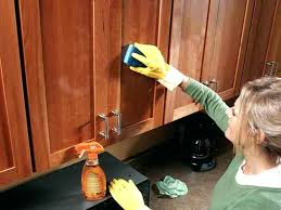 clean grease off cabinets what to use to clean kitchen cabinets how to clean grease off kitchen cabinets before painting how to clean grease off oak kitchen