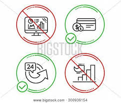 Do Stop Analytics Vector Photo Free Trial Bigstock