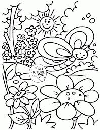 Adult Free Spring Coloring Sheets Printable Free Printable Spring