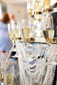 a champagne chandelier at a wedding reception in st louis missouri stock photo offset