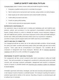 Site Plan Template Construction Safety Plan Template 19 Free Word Pdf