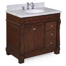 36 inch vanity. Fine Vanity Westminster 36inch Vanity CarraraBrown On 36 Inch