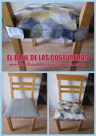 forro protector para las sillas del edor el baÚl de las costureras