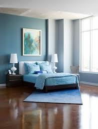 classy blue bedroom
