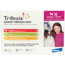 Trifexis 6pk Dog 5 10 Lbs