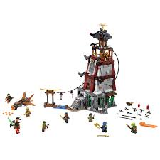 100% LEGO Ninjago Sqiffy w/ Flintlocks from Light House Siege 70594 NEW!  LEGO Minifiguren