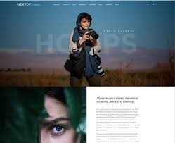 Photographer Website Templates