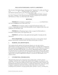 Exclusivity Agreement Template Agreement Exclusivity Agreement Template 19
