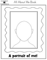 Small Picture What I Look Like coloring page Dry erase book pages Pinterest