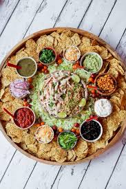 Pin by Wendi Payne on Charcuterie in 2020 | Soul food dinner, Chicken taco  bowls, Food platters