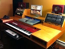 desk build studio desk ikea build your own home studio desk recording studio desk