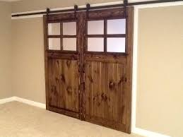 sliding barn door vintage and antique style farmhouse french door with glass windows
