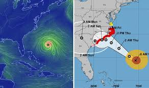 Hurricane Tracking Chart Florence Hurricane Florence Live Stream Watch Florence Live Map As