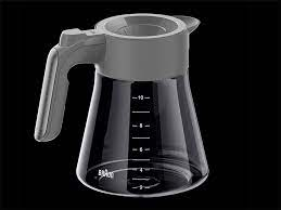 This part is used on all the coffee makers listed below. Replacement Carafe For Multiserve Coffee Machine 10 Cup Gray Brsc009 Braun Household Us