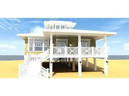 beach house plans on pilings. Beach House Plans Small Plan Narrow Cottage . Elevated Floor Plans. On Pilings L