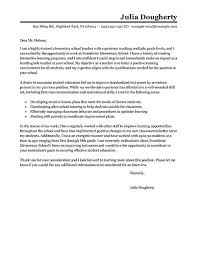 Example Of Education Cover Letters Academic Writing Writing Your Dissertation Report Other Long