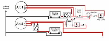 dual alternator wiring schematic wiring diagram Dual Alternator Wiring Schematic k3500 alternator wiring diagram images base amornsak co Two Wire Alternator Wiring Diagram