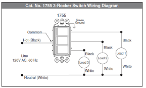 electrical how to wire multi control rocker switch home Leviton 3 Way Rocker Switch Wiring Diagram how to wire multi control rocker switch leviton 3 way rocker switch wiring diagram