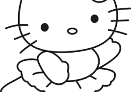 Nowadays, we recommend hello kitty coloring pages print for you, this content is related with owl birthday party free printables. Hello Kitty Coloring Pages Coloring4free Com