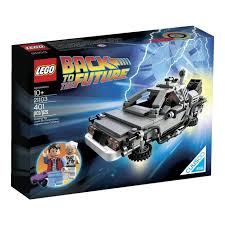 lego the delorean time machine building set blocks car skateboard marty mcfly