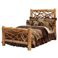 Pine Log Bedroom Furniture Rustic Bedroom Furniture Log Beds And Hickory Beds Black Forest