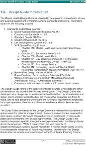 Mental Health Design Guidelines Mental Health Facilities Design Guide December Pdf Free Download