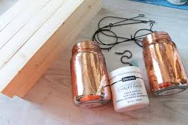 diy mason jar ideas wall sconce