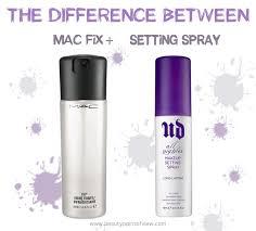 makeup setting sprays mac fix