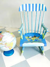painted kids furniture. personalize child rocking chair hand painted kids rocker custom childrenu0027s furniture made a